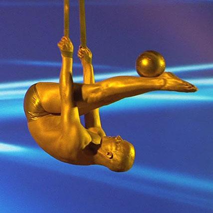 Showact Luft-Akrobatik Soloshow